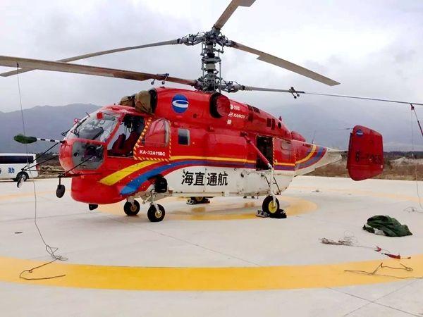 ?k?B\_图:执行侦察任务的b-70es号k-32直升机 摄影:潘乐笛