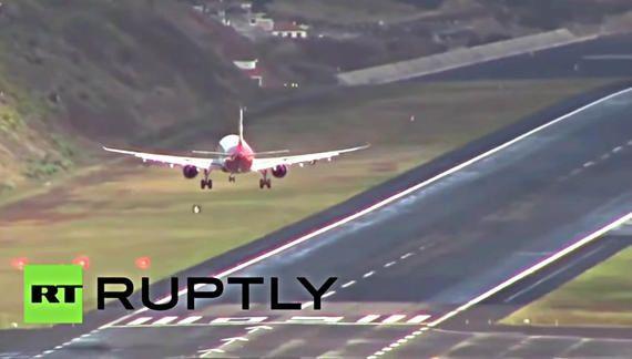 欧洲降落最惊险的机场——马德拉机场