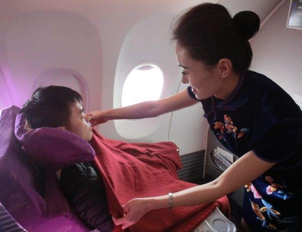 """你是不是飞机上的""""毛毯控""""?"""