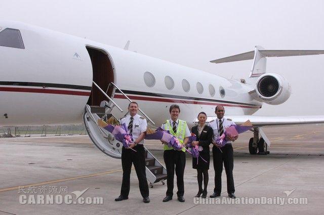 珠海机场正式对香港公务机开放并成功首航