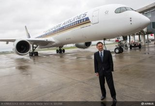 First A350 XWB delivery to Singapore Airlines - Goh Choon Phong, Singapore Airlines Chief Executive Officer
