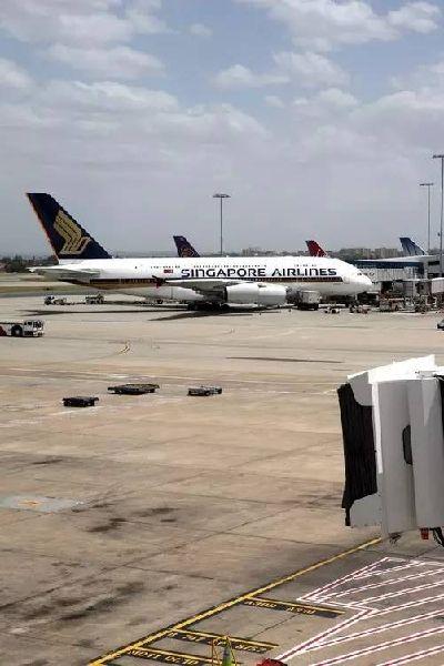 图:悉尼,新加坡航空A380-800客机-我去坐空客A380环球世界了,