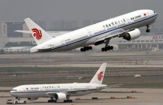 Air China Boeing 777-200 (Registration B-2063)