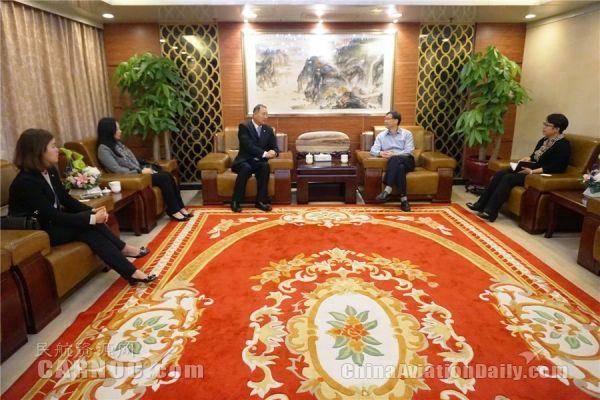 澳门机场拜访中南局 就珠三角协调发展交流协商