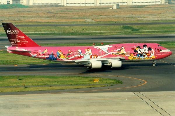 【高清大图】飞机和迪士尼的不解之缘