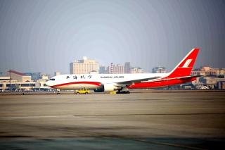 Shanghai Airlines Boeing 767