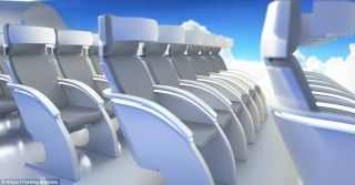 The design team from London said there would be seating for as many as 1,000 passengers on the blended wing aircraft.
