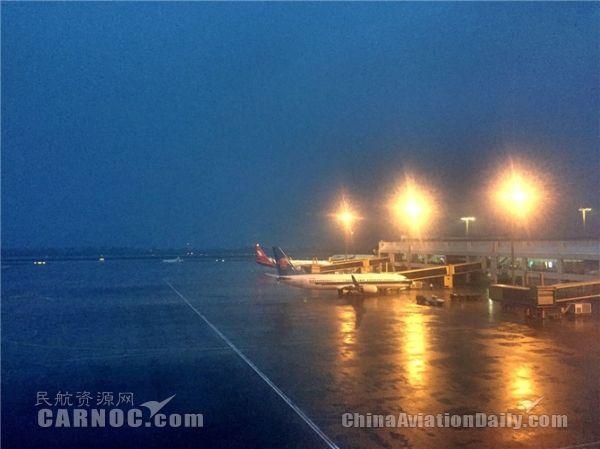截至18时,珠海机场航班延误22班、取消47班