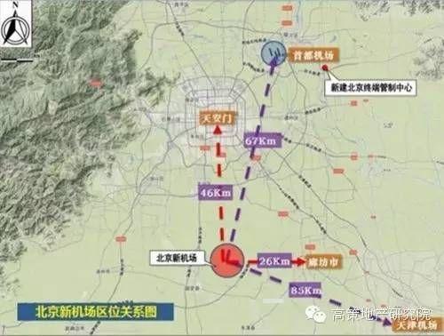 北京新国际机场位置图