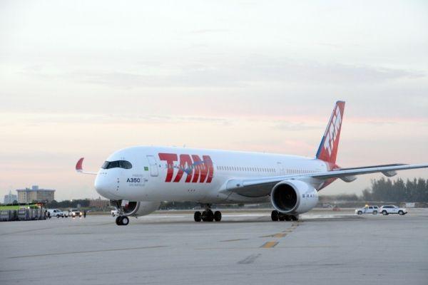 塔姆航空A350客机首航美国体验记