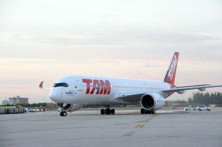 塔姆航空A350客機首航美國體驗記