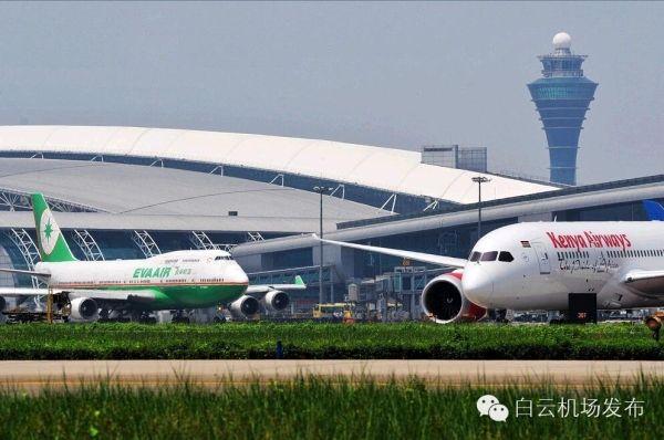 广州机场进入夏秋航季 新增多条国内国际航线