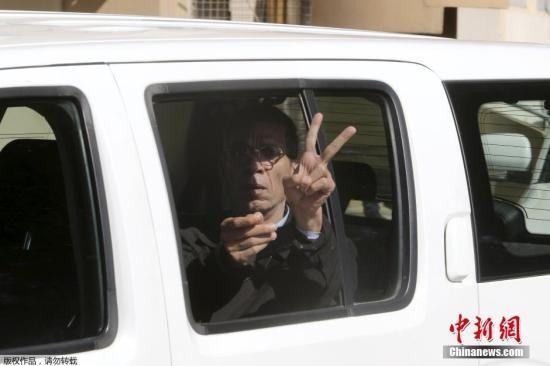 埃航劫机者被塞浦路斯检方判处8天拘留