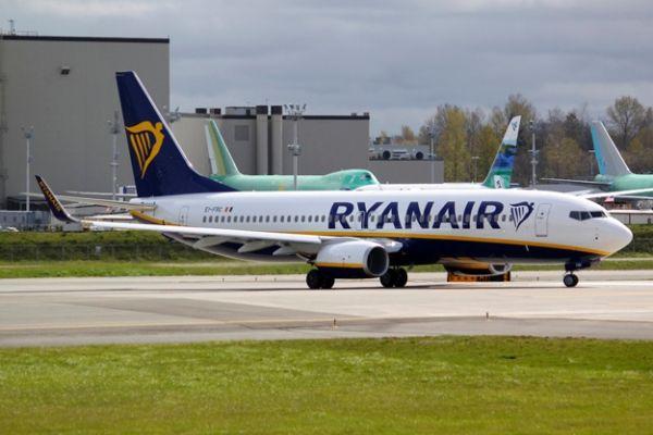 瑞安航空接收其第400架波音737-800飞机
