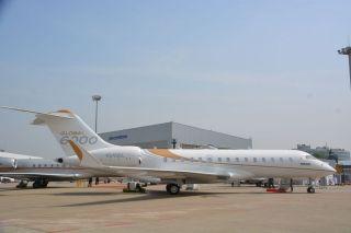 2016ABACE静态展示飞机。