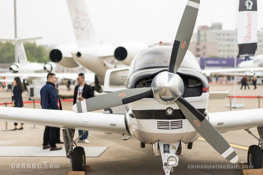 图集:德事隆航空多架飞机参展 G36亮相