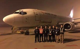长龙航空入驻济南机场