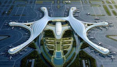 重磅!成都新机场获批 航站楼内部设计首度曝光