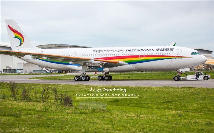 【高清】西藏航空首架空客A330飞机下线