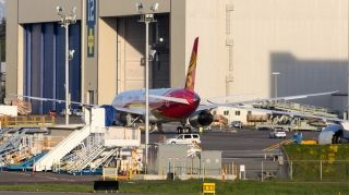 Hainan Airlines' first Boeing 787-9 Dreamliner. Photo by Woodys Aeroimages