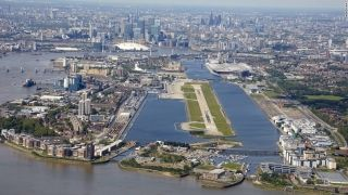 10. London City Airport (UK) - Flying into London City Airport on a clear day, those in window seats get views of the Thames and London landmarks. For pilots, it's challenging. PrivateFly says the glide path is set at stomach-churning 5.8 degrees as opposed to the usual 3-degree glide path.