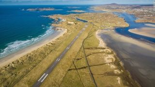 "7. Donegal Airport (Ireland) - ""You arrive in the Emerald Isle adjacent to one of the most beautiful beaches in the world, Carrickfinn, with a backdrop of the majestic Mount Errigal on one side and an array of craggy islands on the other."" That's one PrivateFly user's enthusiastic verdict on this airport on Ireland's Atlantic coast."