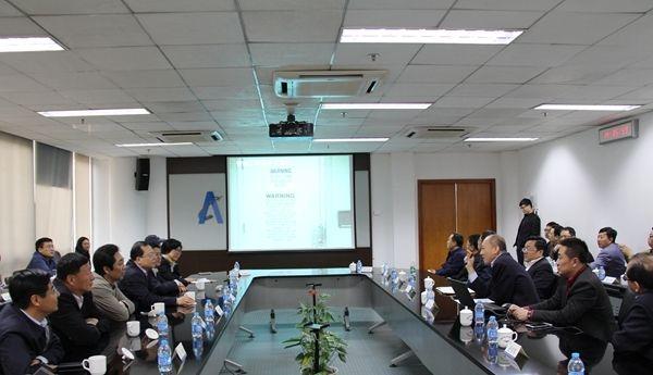 河北省领导赴华北空管局考察调研
