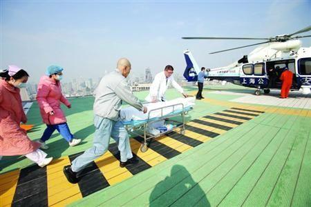 """上海将打造""""空中120"""" 三年后可呼叫空中救护车"""