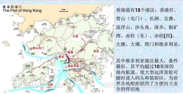 香港港口集装箱码头