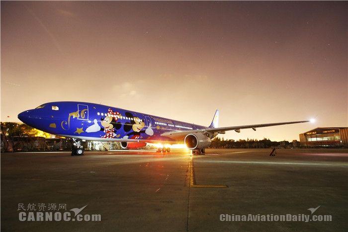 明年东航将迎60周年 机队600架还有60年彩绘