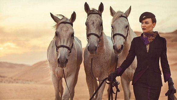 全球17场时装周全被一家阿拉伯航空公司承包了