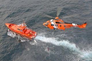 挪威直升机坠海原因不明 机上13人全部罹难