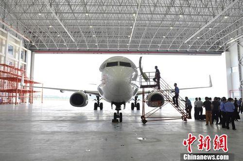 中国与以色列首个合资民航飞机维修项目投运