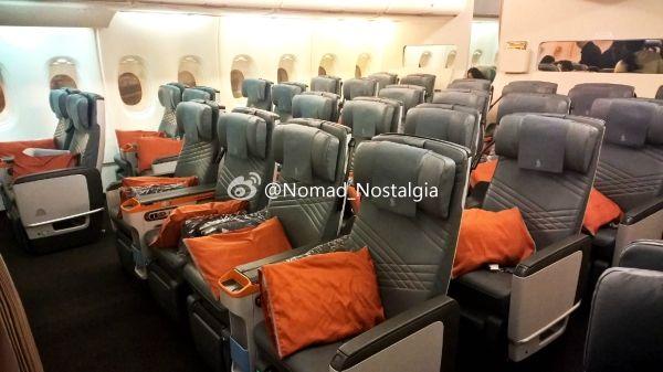 飞行游记:新加坡航空优选经济舱,中规中矩