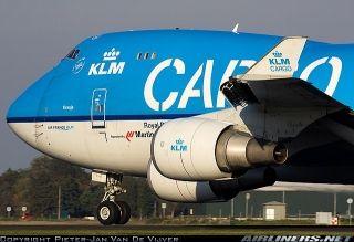 荷兰航空747-400F货机