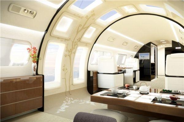打造空中观景台 巴航工业飞机将建落地窗和天窗