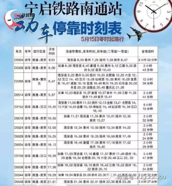 宁启动车15日开跑 最快48分钟扬州飚到南京!