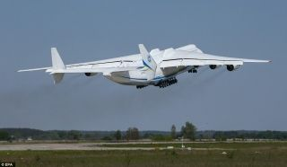 The Ukrainian-built Antonov An-225 Mriya aircraft is making the long journey from Central Europe to the Australian Outback.
