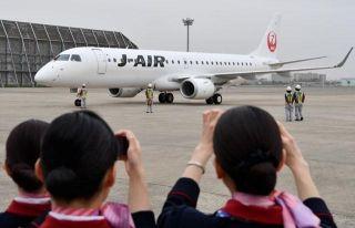 日航子公司J-AIR首架E190成功实现首飞