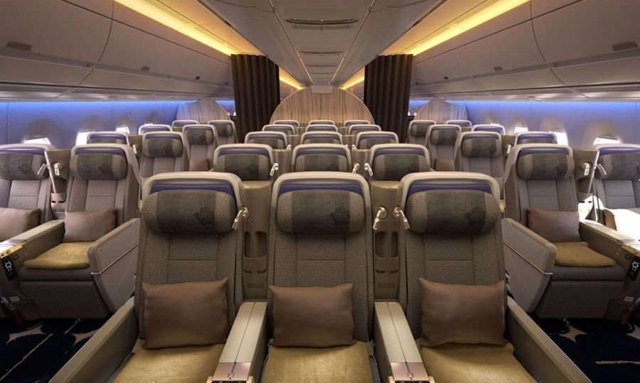 Photos China Airlines Unveils A350 Seat Design