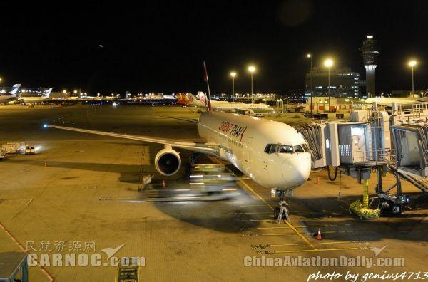 泰国东方航空未经批准擅自飞行 被罚2.9万元