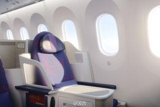 Lie-flat seats in Business Class