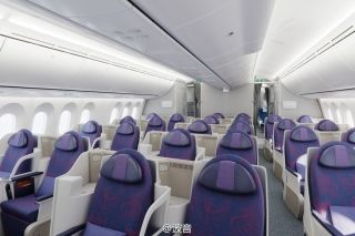 Business Class inside Air China 787-9