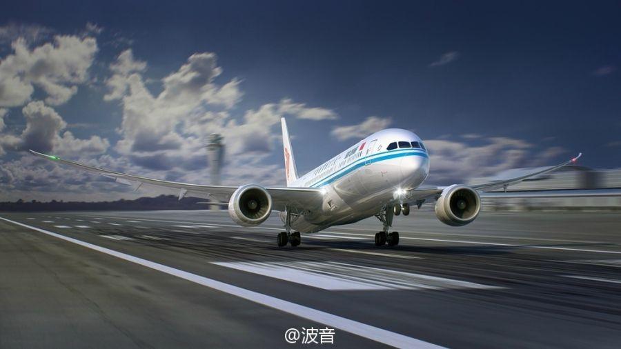 图集:国航787-9梦想飞机抢先看