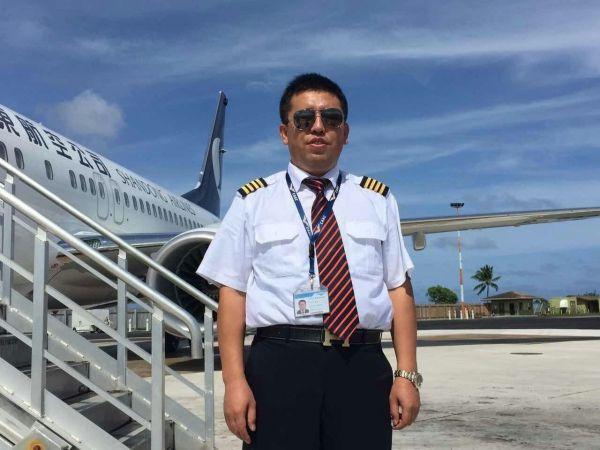 他是金鹰飞行队员 他用心坚守每一次飞行安全