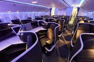 Virgin Australia's new Business Class cabin features 37 individual and private suites. Photo by Virgin Australia