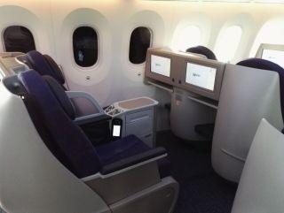 【高清】国航787-9飞机客舱初体验
