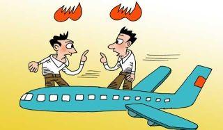 旅客因不满航班取消 扰乱机舱秩序遭罚