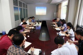 华北局领导到气象中心调研雷雨季航班运行保障