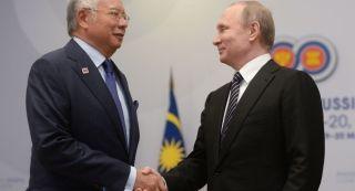 大马总理与普京会晤 称MH17空难调查出现进展
